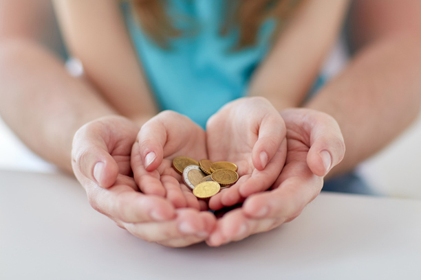 Sparen und Ausgeben will gelernt sein Das Taschengeld hilft dabei ...
