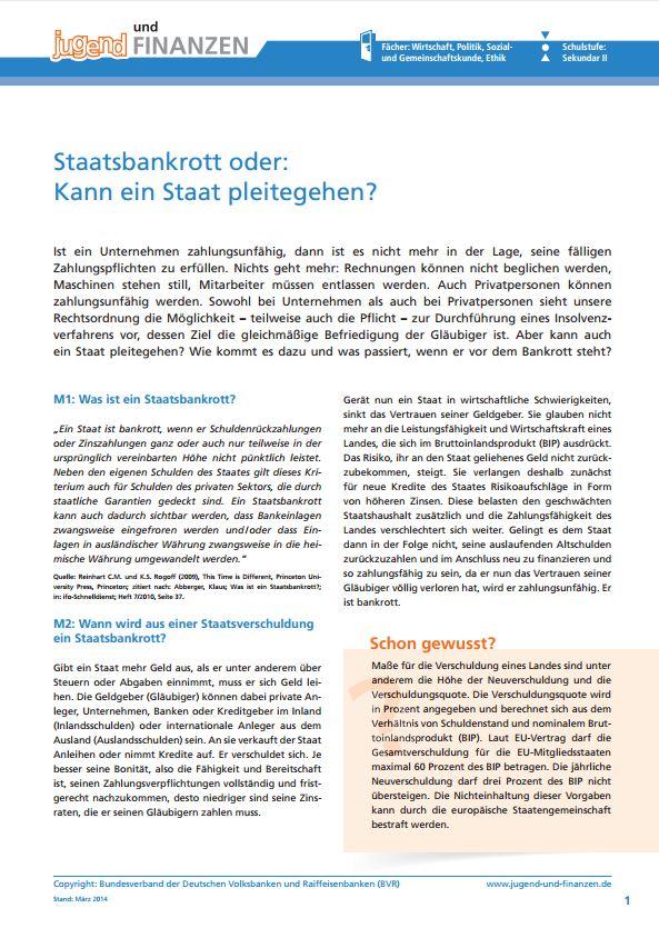 Alle Arbeitsblätter - Alle - Jugend und Finanzen Schulserviceportal